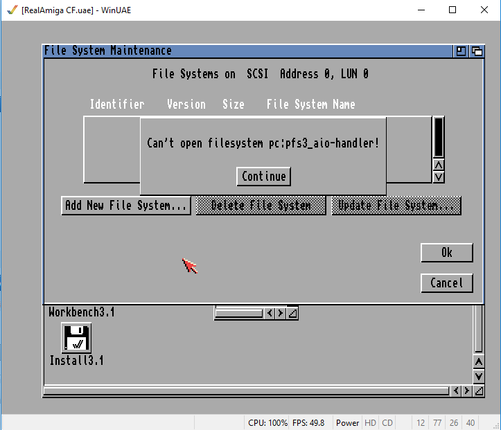 Klikněte na obrázek pro zobrazení větší verze  Název: pfs3error.PNG Zobrazeno: 71 Velikost: 22,9 KB ID: 9613