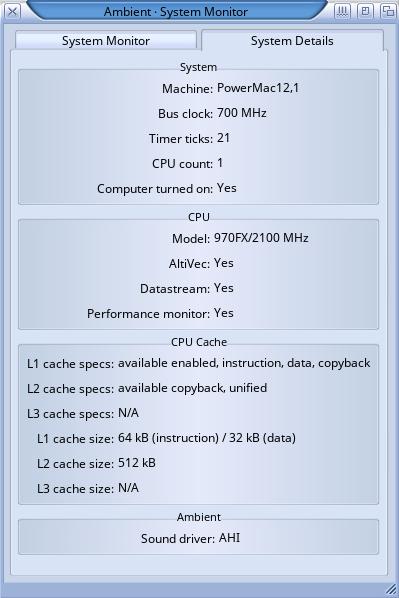 Klikněte na obrázek pro zobrazení větší verze  Název: SystemDetails-iMAC.png Zobrazeno: 34 Velikost: 46,7 KB ID: 9968